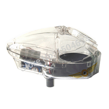 New 0.68 Ball Electronic Paintball Loader Mini Wheel Speed Loader BB Loader 180 Rounds Capacity Transparent(China)