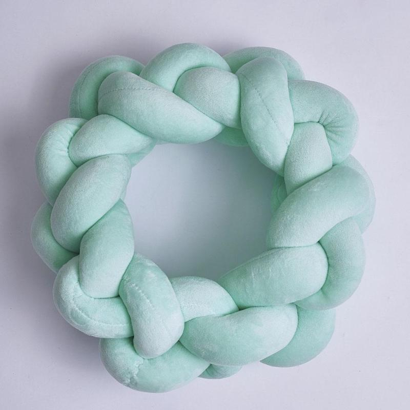 Knotted Soft Plush Pillow