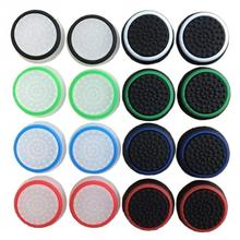 Game Accessory  Protect Cover 16pcs/8 Pairs Silicone Thumb Stick Grip Caps for PS4/ Xbox 360/ PS3 /Xbox one Controllers