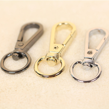 6 pcs new Accessories women Bags Bags Hook Keychain 4 colors 5*1.8 cm for bag