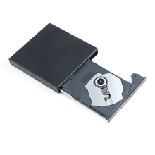 Portable External Slim USB 2.0 DVD-RW/CD-RW Burner Recorder Optical Drive CD DVD ROM Combo Writer For Tablets PC(China)