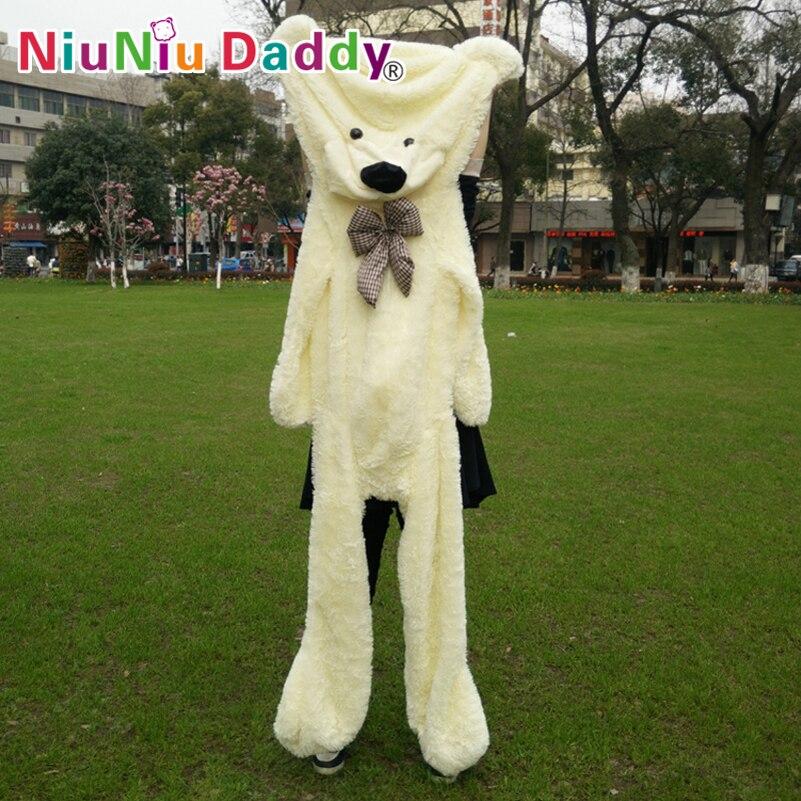 Niuniu Daddy200cm/79 inch,Big Plush toys,Semi-finished bear, Plush Bear Skin,plush teddy bear skin,Free Shipping<br>