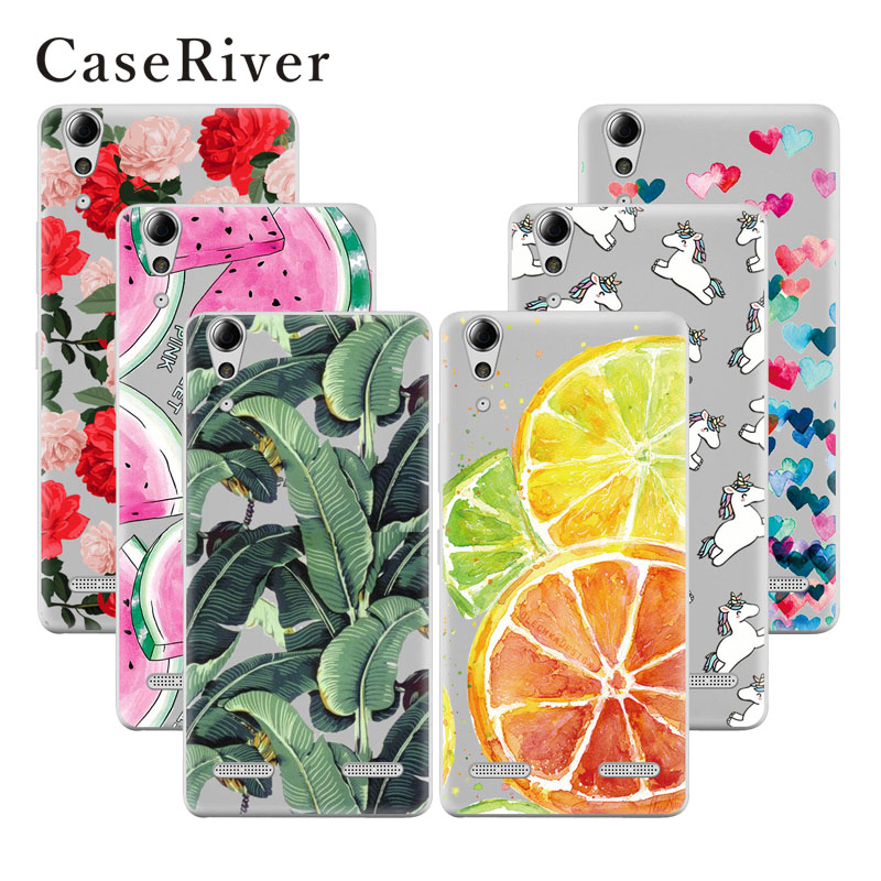 CaseRiver Soft TPU Lenovo A6000 Case Cover Back Protective Lenovo A6010 Plus / A6000 / Lemon K3 K30-T / 6000 6010 Case