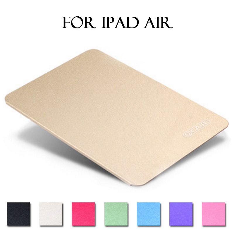 New 2017 Fashion Case for IPad Air, Solid Color PU Ultra Slim Light Weight Cover Case for IPad Air/iPad 5 Luxury Leather Cases<br><br>Aliexpress