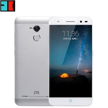 "ZTE Blade A2 Mobile Cell Phone 4G LTE MTK6750 Octa Core 1.5Ghz 5.0"" HD 2GB RAM 16GB ROM 13MP Android 5.1 Fingerprint Touch ID"