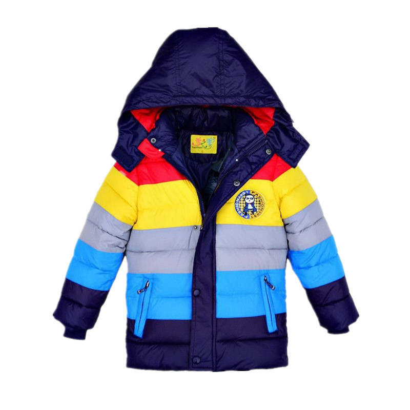 3-9 yrs Children Jackets Boys Girls  fashion down coat 2017 New Baby Winter Coat Kids warm winter outwear hooded Hight qualityОдежда и ак�е��уары<br><br><br>Aliexpress