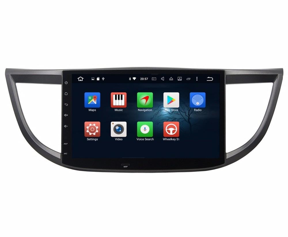Octa Core 10.1″ Android 6.0 Car Radio DVD GPS for Honda CR-V CR V 2012-2015 With 2GB RAM Bluetooth WIFI 32GB ROM USB Mirror-link