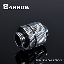 "Gold White Black Silver Gold G1/4"" Male to Male Rotary Connectors / Extender PC water cooling system THDJ15-V1(China)"