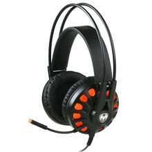 G932 Pro Gaming Headset with Rotated Mic Virtual 7.1 Surround Sound HiFi LED Light Over Ear Game Earphone Headphone for PC