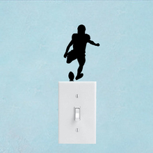 Football Home Decor Vinyl Accessories Switch Sticker Bedroom Wall Decal 6SS0252(China)