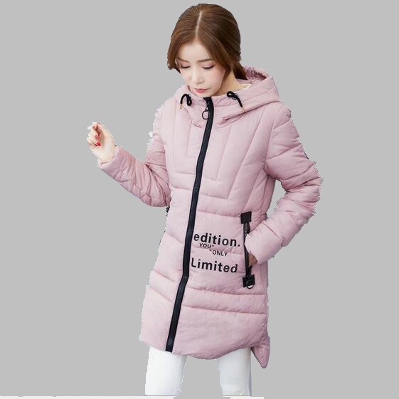 2017 Winter Women Coat New Korean Medium-length Hooded Down Jacket Fashion Thick Warm Cotton Coat Large size Casual Jacket AB270Одежда и ак�е��уары<br><br><br>Aliexpress