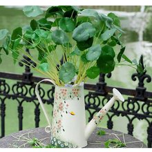 45CM artificial eucalyptus leaf Green plant branches Flower arranging accessories money leaves(China)