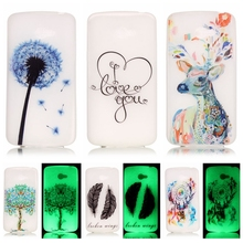 Luminous Case sFor LG K5 case For LG K5 LTE X220 X220DS Q6 K 5 Night Light Soft TPU Silicone Cell Phone Back Cover Coque Capa