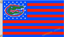 3X5FT NCAA Florida Gators Flag US stripes banner  Free Shipping  custom flag 100D Digital Print