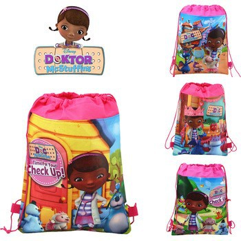 12Pcs Lovely Dora Cartoon Kids Drawstring Printed Backpack Beach Shopping School Traveling Party Bags Birthday Gifts 34*27CM<br><br>Aliexpress