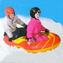 Brand Name Flexible Flyer Snow Twist Inflatble Snow Tube Sports Tube Winter Ski Circle Sledge Twist for 2 person 2017 New Style