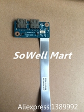 Original laptop IO board for HP 15-R 15-S 15-G 250 G3 Laptop ZSO51 LS-A993P USB board 455MKK32L01