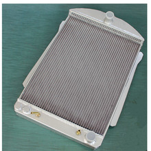 high performance 56mm aluminum alloy radiator for Chevy car street rod auto 1940-1941 40