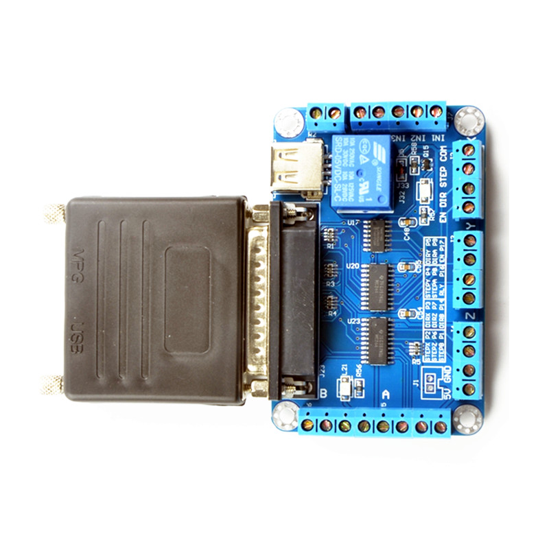 mach3 Parallet Port TO USB (9)