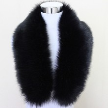 Extra Large Women's Faux Fur Collar for Winter Coat winter scarf women 2017(China)