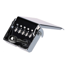 HOT 8X Banjo Tailpiece for 5 String Nickel Chrome Plate Silver(China)