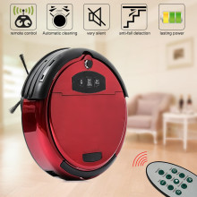 Auto Floor Vacuum Cleaner Robot Smart Robotic Home Automatical Sweeping Dust Intelligent Voice Function Remote Control