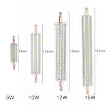 Newest dimmable 5w 78mm LED R7S light 10w 118mm R7S lamp dimmable R7S 360 degree angle perfect replace halogen lamp AC85-265V