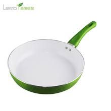 26 cm Non-stick Cookware Lemorange Ceramic Coating Egg Frying Pan General Use For Gas And Induction TQQ0060(China)