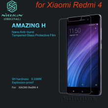 Xiaomi redmi 4 tempered glass film Redmi 4 pro screen protector Nillkin glass film for Xiaomi redmi 4 Japan imported glass
