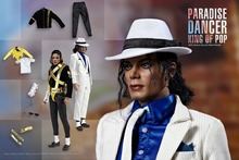 1/6th Scale-Paradise Dancer & Dangerous Collectible Michael Jackson Figure Toy