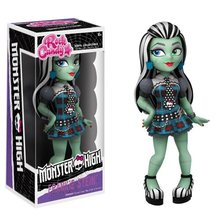 Original FUNKO P Monster Draculaura / Clawdeen Wolf / Frankie Stein Rock Candy Vinyl Figure Doll Car Decoration Freeshipping(China)
