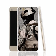 13341 Military Punisher cell phone Cover Case for Xiaomi redmi hongmi red rice 1_1s 2 3 pro note