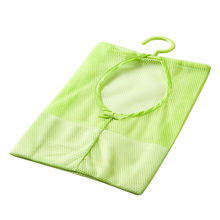 2pcs/lot Multi-purpose storage bag can be hanging, clothespin bags kitchen bathroom multi-subnet Bag Good Price