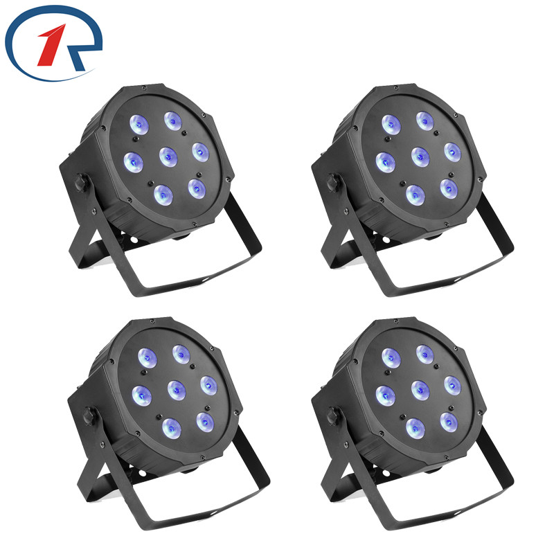 ZjRight 4pcs/lot High Power 70W LED Par lights DMX512 Large concert Dyeing effect stage light ktv bar dj disco effect lighting<br>