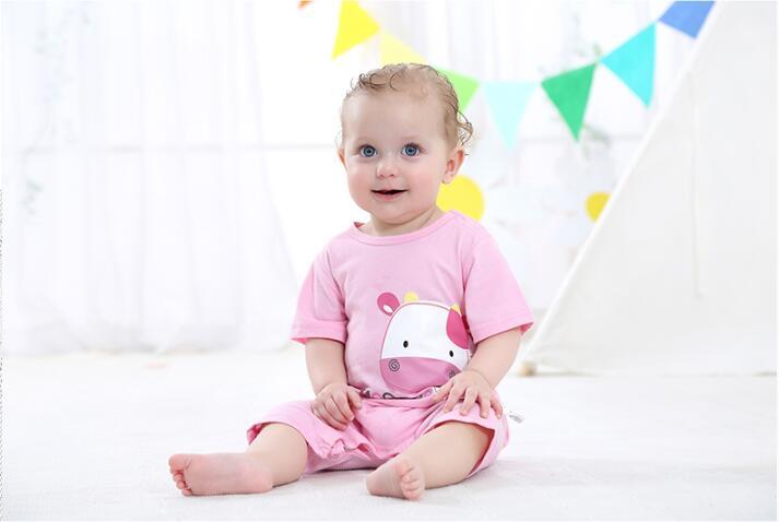 summer 2018 baby bodysuits 0-24M short sleeve body babies newborn baby girl boy clothing cotton infant jumpsuit cartoon costume 9