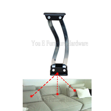 Home Furniture Hardware Adjustable Sofa Bed Backrest Hinge Folding Armrest hinge Without Noice D20(China)