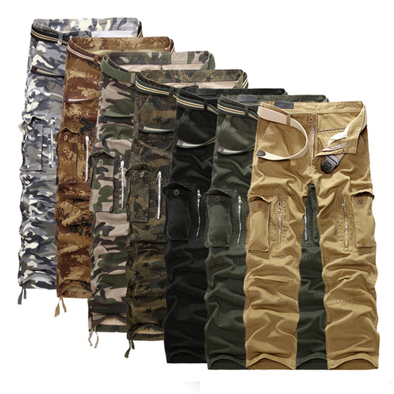 Camouflage Pants Fashion Men Cargo Pants Casual Cool Design Brand Military Trousers Homme Fashion Army Khaki Pants Men