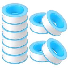 10pcs / Lot Roll Teflon Plumbing Joint Plumber Fitting Thread Seal Tape For Water Pipe Plumbing Sealing Tapes