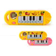 Baby Kids Musical Animal Farm Keyboard Piano Educational Developmental Music Toys for Children Baby Musical Instrument Krystal
