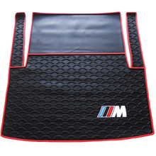warehouses new rubber waterproof texture car trunk mat for 3 Series