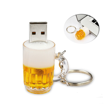 Hot Sale Cool Beer Fashion Pendrives 128GB Usb Flash Drive High Speed 8GB 16GB 32GB 64GB Pen Drive Memory USB Stick hard disk