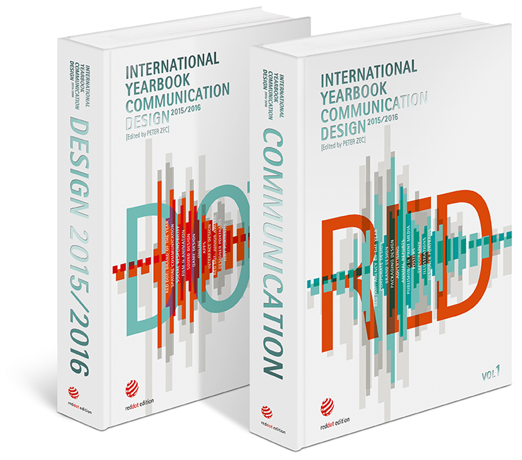 2015/2016 Gemany International Yearbook Communication Design Red Dot Design Book<br><br>Aliexpress