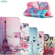 Luxurious stand Flip Silicon Wallet shell carcasa For samsung galaxy j1 ace Back cover case Don't touch Paris, je t'aime pattern(China)