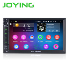 JOYING 7 inch 2 Din Touch Screen Bluetooth Built-in GPS maps Car Radio Player Android 6.0 head unit USB/SD/AUX/FM/AM/RDS stereo(China)
