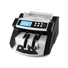 Automatic Multi-Currency Cash Banknote Money Bill Counter Counting Machine LCD Display with UV MG Counterfeit Detector Function(China)