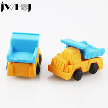 1 pcs JWHCJ creative truck car shape removable eraser stationery office school correction supplies papelaria child's toy gifts