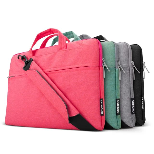 hot sales POKOFO FASHION LAPTOP CARRY BAG SLEEVE CASE COVER FOR MACBOOK Samsung HP DELL Toshiba ASUS Sony Acer 11 13.3 15.4<br><br>Aliexpress