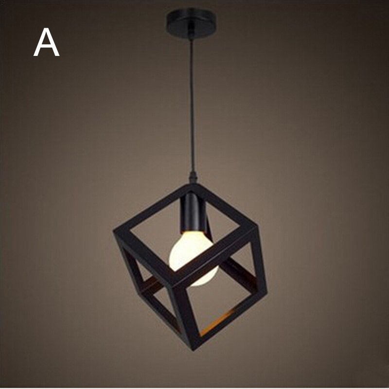 Retro indoor lighting Vintage pendant light LED lights  iron Bar Cafe Bedroom Restaurant American Country Style Hanging Lamp<br><br>Aliexpress