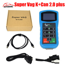 New design VAG Diagnostic Super Vag K+Can 2.0 plus , super vag k can 2.0 plus scanner tool with free china post shipping