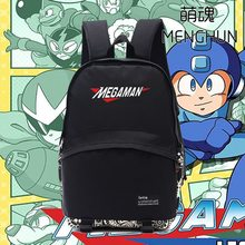 Retro video game console Magaman Rockman backpack MAGAMAN daily use nylon bag school backpacks FC/NES game bag NB179